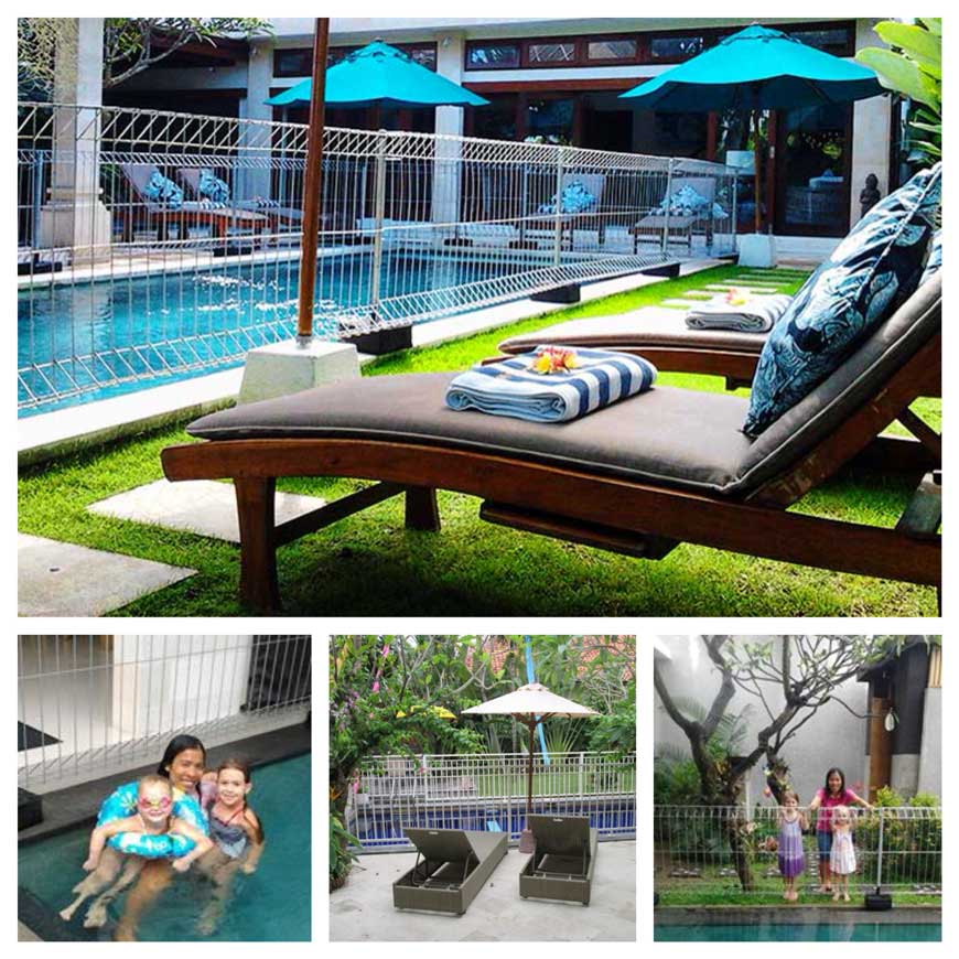 Pool Fence Hire Bali Bali Happy Baby